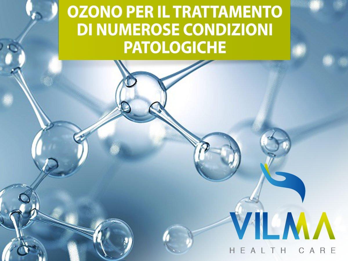 ozono per il trattamento di numerose condizioni patologiche