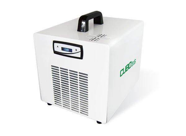 sanificazione ad ozono per uffici, ambienti sanitari e sistemi da ricovero Cubo 3.5